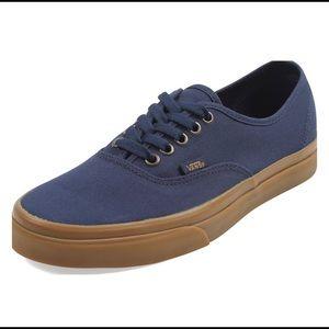 Vans unisex navy blue shoes